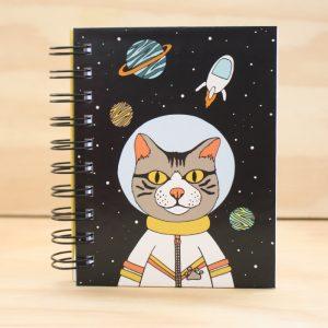 Libreta Jupín Astronauta