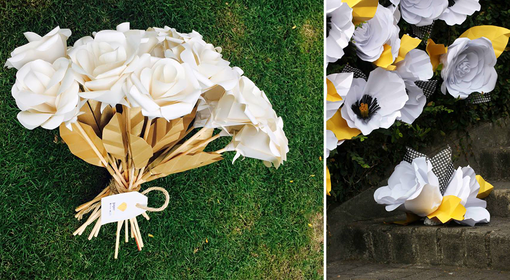 Taller de Flores de Papel a cargo de PaperLab
